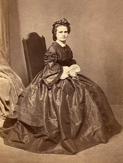 Henrietta Dugdale as a single woman c1845