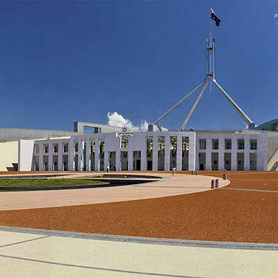 Parliament House in Canberra, Australian Capital Territory