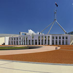 Parliament House in Canberra, Australian Capital Territory