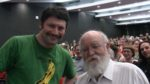 Photo of Adam A. Ford and Professor Daniel Dennett