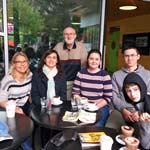 Photo taken at cafe in Melbourne Gardens as Casual 'Get-together at Cafe and Gardens' Ex-Religious Support Network event on Saturday 13 April 2019