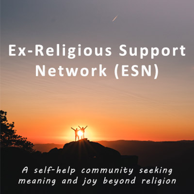Ex-Religious Support Network (ESN) logo