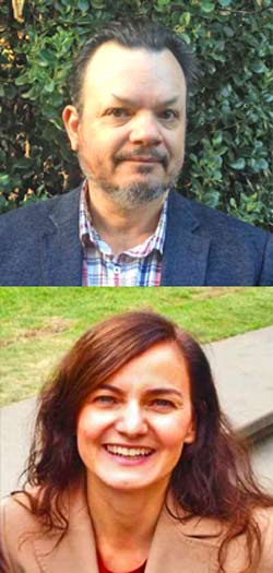 Photos of Steven Unthank and Lara Kaput