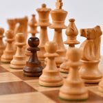 Selective photo of Pawn piece on chess board