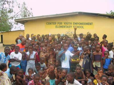 Constone Day at Buduburam: Center for Youth Empowerment Elementary School