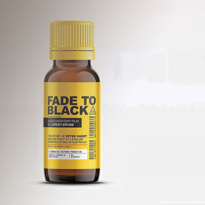 Picture of Fade to Black medicine bottle