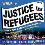 Walk for Justice for Refugees poster